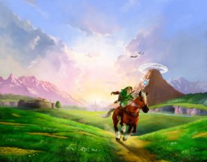 Artwork Ocarina of Time