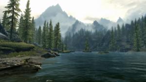 Skyrim Paysage
