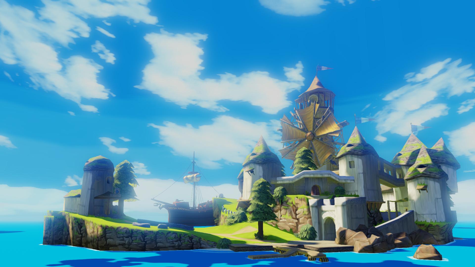 S'aquò vos interessa, i a un remaster de Zelda The Wind Waker sus WiiU, vos o conselhi !